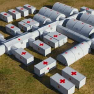 RAPID DEPLOYABLE NEGATIVE PRESSURE AREA HOSPITALS